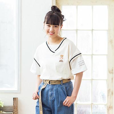 鶴嶋乃愛(のあにゃん)が着る 夏のトレンドコーデ
